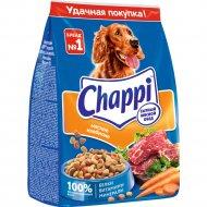 Корм для собак «Chappi» мясное изобилие с овощами и травами 600 г.