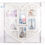 Рамка-коллаж «Сердце» на 6 фото, 14.5 х 9 см.