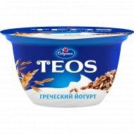 Йогурт греческий «Teos» злаки с клетчаткой льна, 2%, 140 г.