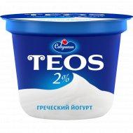 Йогурт греческий «Teos» 2%, 250 г.