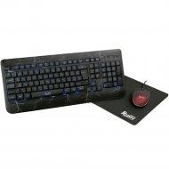 Набор игровой клавиатура+мышь+коврик «SmartBuy» SBC-715714G-K.
