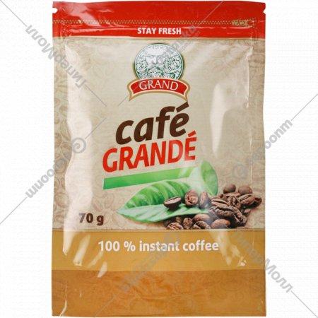 Кофе натуральный растворимый «Cafe Grande» 70 г.