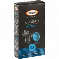 Кофе молотый «Bristot» Decaffeinato, 10х5 г.