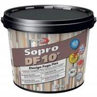 Фуга «Sopro» DF 10, бетонно-серая, 2.5 кг