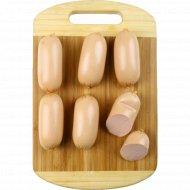 Cардельки вареные «Куриные колобки» высшего сорта, 1 кг., фасовка 0.28-0.3 кг