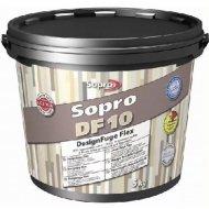 Фуга «Sopro» DF 10, песочно-серая, 5 кг
