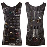 Платье-органайзер для бижутерии.