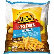 Картофель фри «McCain» волнистый, 750 г.