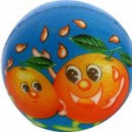 Игрушка «Мяч детский» синий апельсин.