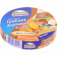 Сыр плавленый «Hohland» ассорти, грибная корзинка, 55%, 140 г.
