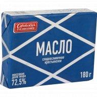 Масло «Крестьянское» 72,5 %, 180 г.