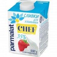 Сливки «Parmalat» ультрапастеризованные, 35%, 500 г