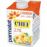 Сливки «Parmalat» ультрапастеризованные, 23%, 500 г