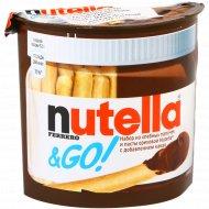 Набор из хлебных палочек и пасты ореховой «Nutella» 52 г.