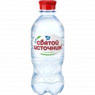 Вода питьевая «Святой Источник» газированная, 0.33 л.