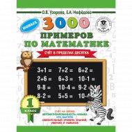 Книга «3000 новых примеров по математике. 1 класс».