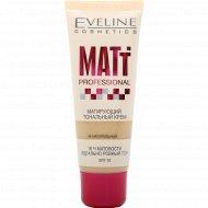 Крем тональный «Eveline» Matt Professional натуральный, 30 мл.