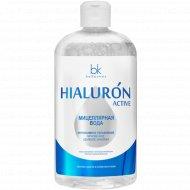 Мицеллярная вода «Hialuron Active» удаление макияжа, 500 мл.