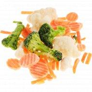 Смесь овощная «Юниор Микс» быстрозамороженная, 1 кг., фасовка 0.8-1 кг