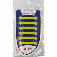Шнурки для обуви силиконовые, 12 шт.