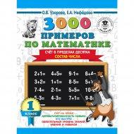 Книга «3000 примеров по математике. 1 класс. Счёт в пределах десятка».