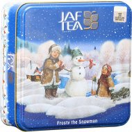 Чай черный «Jaf Tea» морозный снеговик, 80 г.
