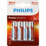Элементы питания «Philips» АА, 4 шт.