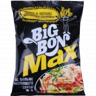 Лапша с соусом «Big Bon Max» «Пикантная курочка» 95 г.