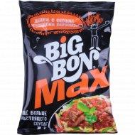 Лапша с соусом «Big Bon Max» «Говядина Барбекю» 95 г.