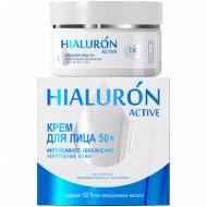 Крем для лица «Hialuron Active» 50+, увлажнение укрепление кожи, 48 г.