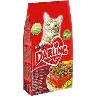 Корм для кошек «Darling» с мясом по-домашнему и овощами, 10 кг.
