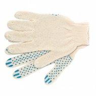 Перчатки трикотажные «Точка» ПВХ-покрытие.