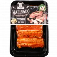 Полуфабрикат из свинины «Грудинка для гриля» охлажденный, 1 кг., фасовка 0.5-0.6 кг