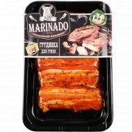 Полуфабрикат из свинины «Грудинка для гриля» охлажденный, 1 кг., фасовка 0.3-0.45 кг
