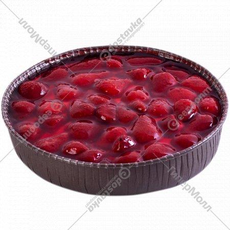 Торт «Венский пирог» клубничный, 620 г.