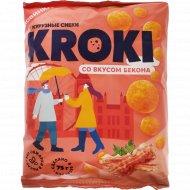 Шарики кукурузные «Kroki» с беконом, 75 г