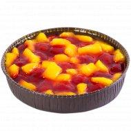Торт «Венский пирог» клубника-ананас, 0.62 кг.