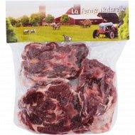 Шейная часть баранья «La Ferme Naturelle» стейки, замороженная, 1 кг, фасовка 0.95-1.25 кг