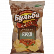 Чипсы картофельные «Бульба Chips» со вкусом заморского краба, 75 г.