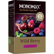 Чай черный листовой «Мономах» wild berry, 80 г