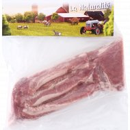 Грудинка свиная бескостная, замороженная, 1 кг., фасовка 0.6-0.95 кг