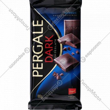 Шоколад черный «Pergale» классик, 100 г