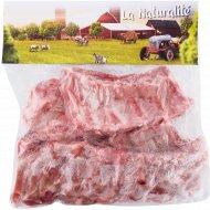 Реберные пластины свиные, замороженные, 1 кг., фасовка 0.8-1.3 кг