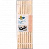 Циновка для суши из бамбуковых палочек 240 мм х 240 мм.