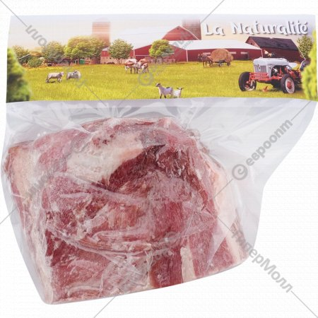Шейная часть свиная, замороженная, 1 кг., фасовка 0.8-1.2 кг