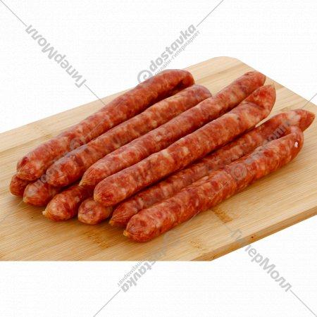 Колбаски «Закусочные» первый сорт, 1 кг., фасовка 0.3-0.35 кг