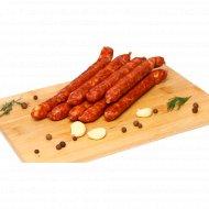 Колбаски «Чешские к пиву» первый сорт, 1 кг., фасовка 0.32-0.42 кг