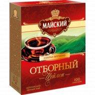 Чай черный «Майский» отборный, 100 пакетиков.