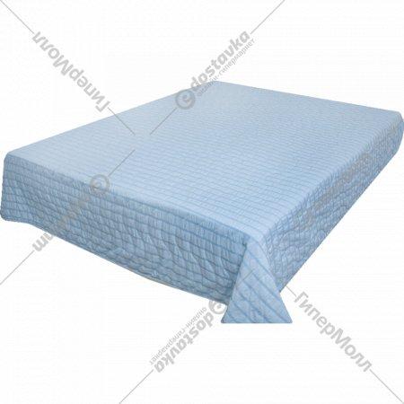 Покрывало «Моё бельё» Синий туман, 200x220 см