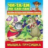 Книга «Читаем по слогам» Мышка-Трусишка.